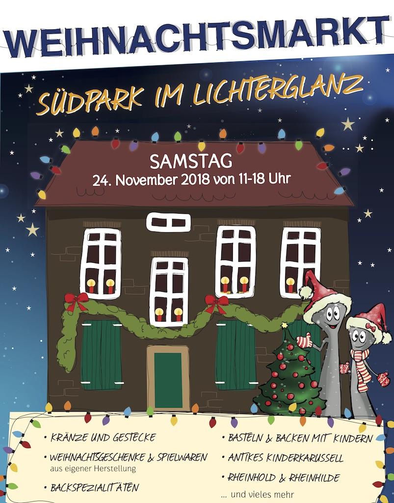 Weihnachtsmarkt im Südpark | Lokalbüro Düsseldorf