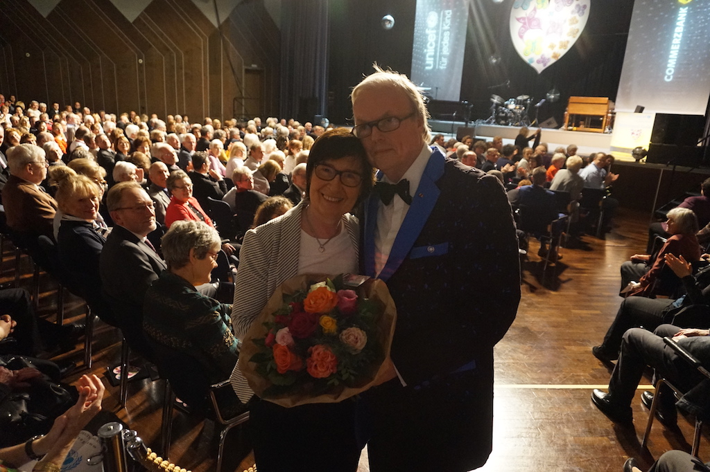 Heribert Klein und Ehefrau Jutta Foto: LOKALBÜRO