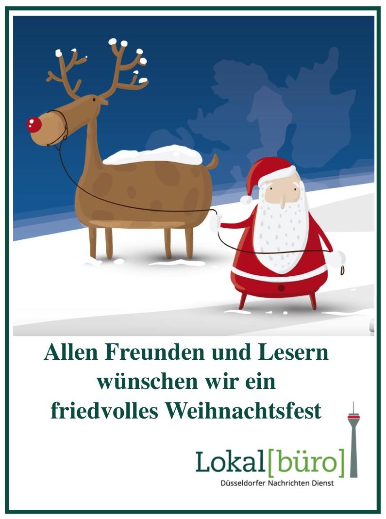 Weihnachtsgrüße Büro.Weihnachtsgrüße Lokalbüro Düsseldorf