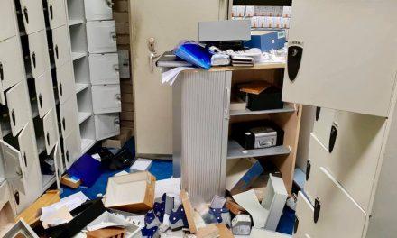 Einbruch in Zulassungsstelle am HöherWeg