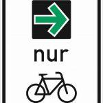 Pilotversuch mit Grünpfeil nur für Radfahrer gestartet