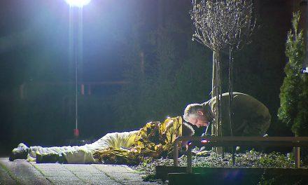 Fund im Vorgarten: Mann liegt über 2 Stunden auf Bombe