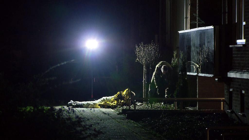 Bombenfund in Venlo Foto: GÜNTER JUNGMANN