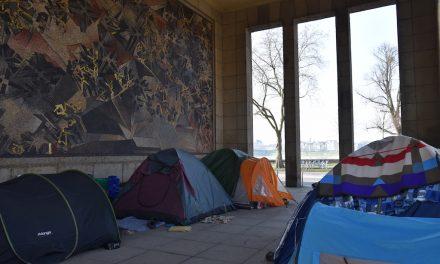 Obdachlosen Schlafplätze sollen geräumt werden