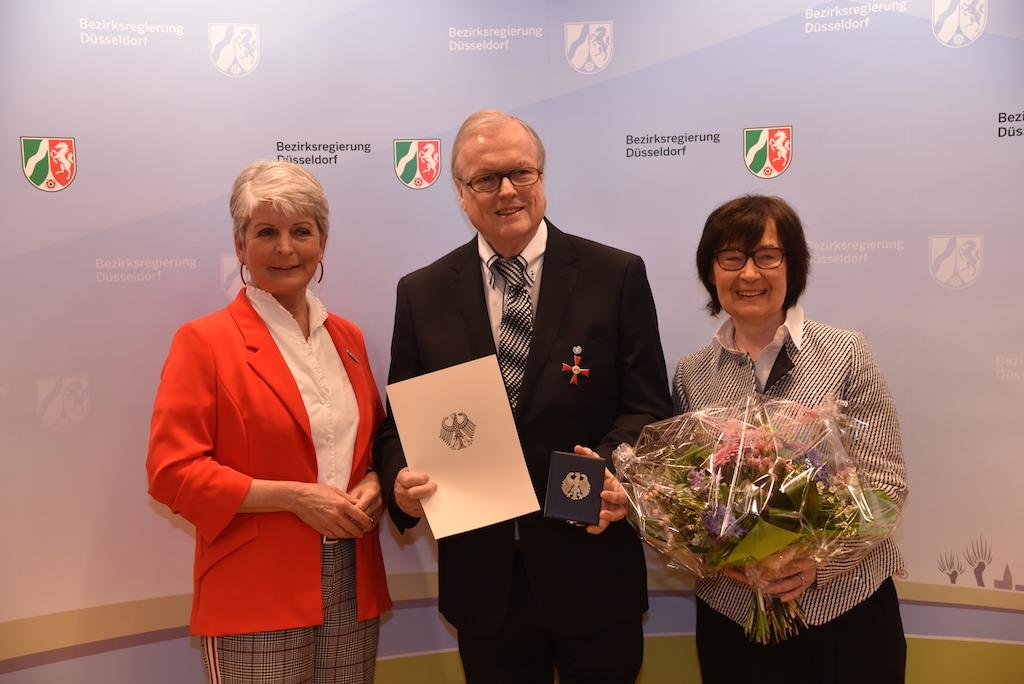 Regierungspräsidentin Radermacher, Heribert Klein und Ehefrau Jutta Foto: LOKALBÜRO