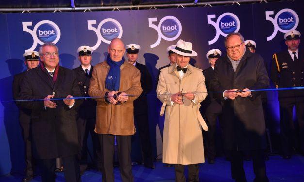 Die 50. boot Düsseldorf ist eröffnet
