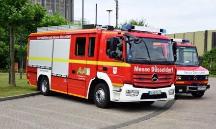 Explodierter Tauchcomputer löst Feuerwehreinsatz auf der Messeaus