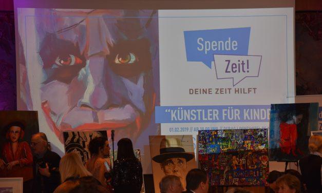 """2. Spendezeit-Gala """"Künstler für Kinder"""""""