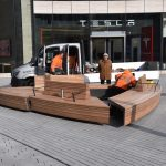 Neue Bänke für den Schadowplatz