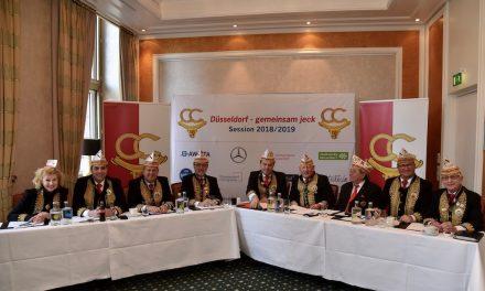 Comitee Carneval Düsseldorf stellt den Fahrplan für die tollen Tagevor