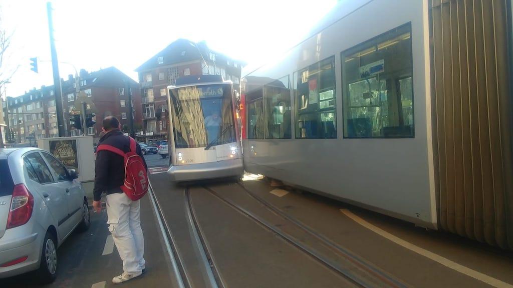 Zusammenstoß der Linie 704 und 707 Foto: LOKALBÜRO