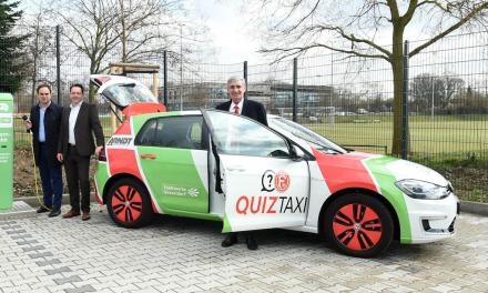 Fortuna und Stadtwerke Düsseldorf starten mit F95 QuizTaxi