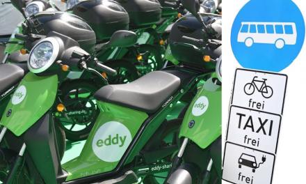 """""""eddy"""" darf nicht auf die Umweltspur"""