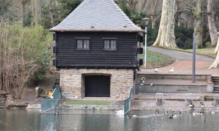 Vierter Diebstahl der Kupferregenrinnen am Schwanenhaus