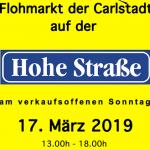 Marché aux puces – Flohmarkt der Carlstadt