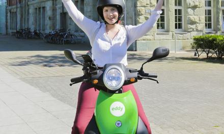 """Es wird wieder grüner auf Düsseldorfs Straßen: """"eddy"""" ist zurück!"""