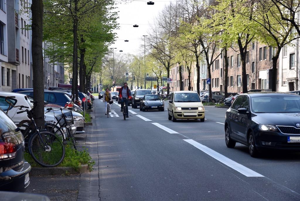 Freie fahrt für Radfahrer Foto: LOKALBÜRO