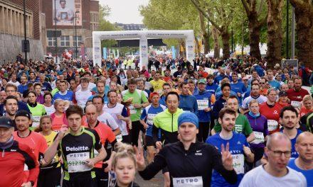 Top Stimmung beim 17. Düsseldorf Marathon