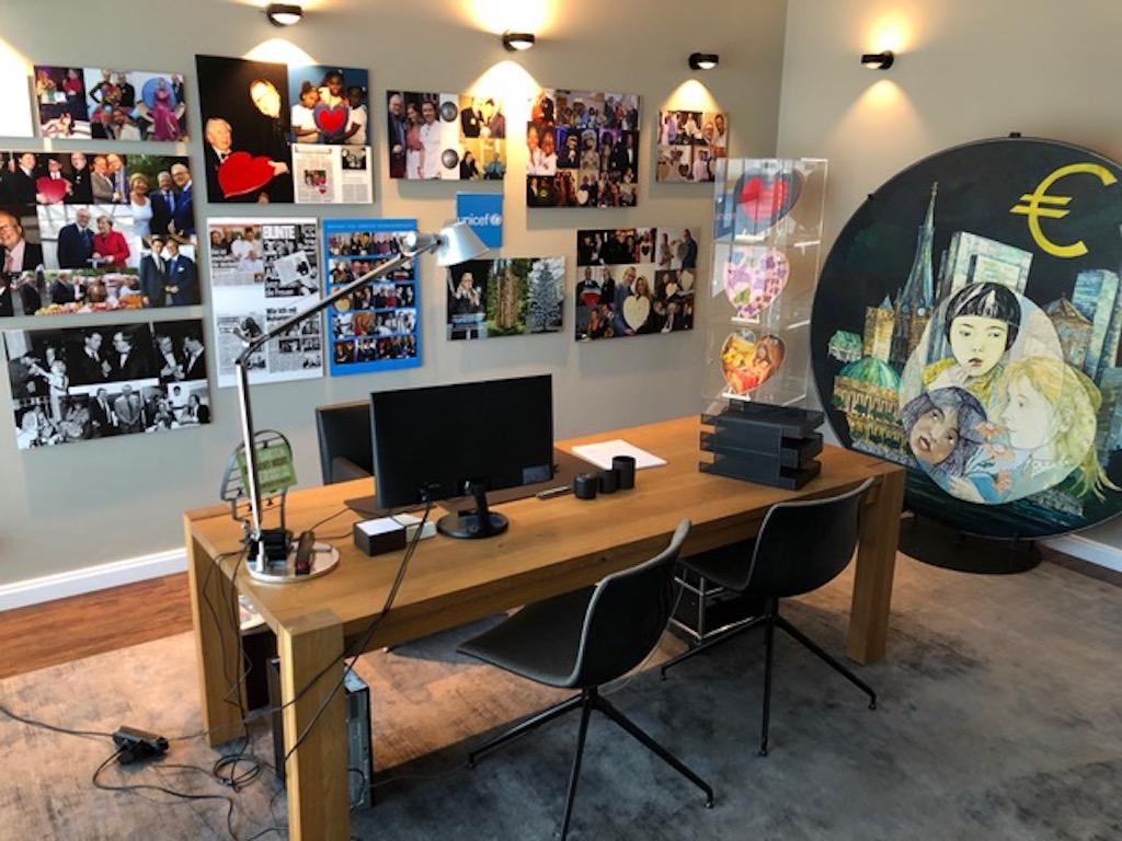 Das neue Büro im Andreas Quartier