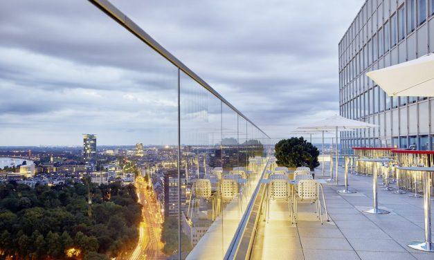 Ein einmaliger Blick über Düsseldorf