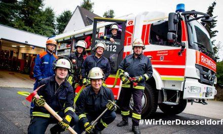"""""""Feuerwehr – #WirfuerDuesseldorf"""" – Aktionstag auf dem Burgplatz"""