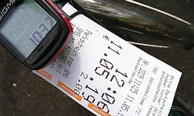 Radfahrer folgen Hartnigk Vorschlag….