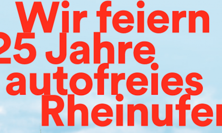 25 Jahre Rheinufertunnel