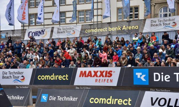 Techniker Beach Tour: Zweiter Aufschlag ab Freitag in Düsseldorf