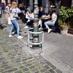 Gaslaterne am Carlsplatz bekommt Rammschutz