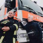 """""""Silberner Florian"""" für die Freiwillige Feuerwehr Düsseldorf"""