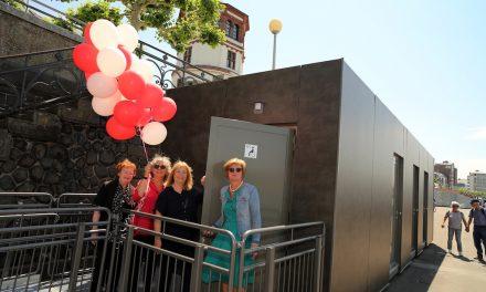 Neue Toilettenanlage steht der Öffentlichkeit zur Verfügung