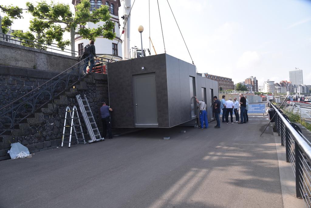 Kleiner Container Foto: LOKALBÜRO