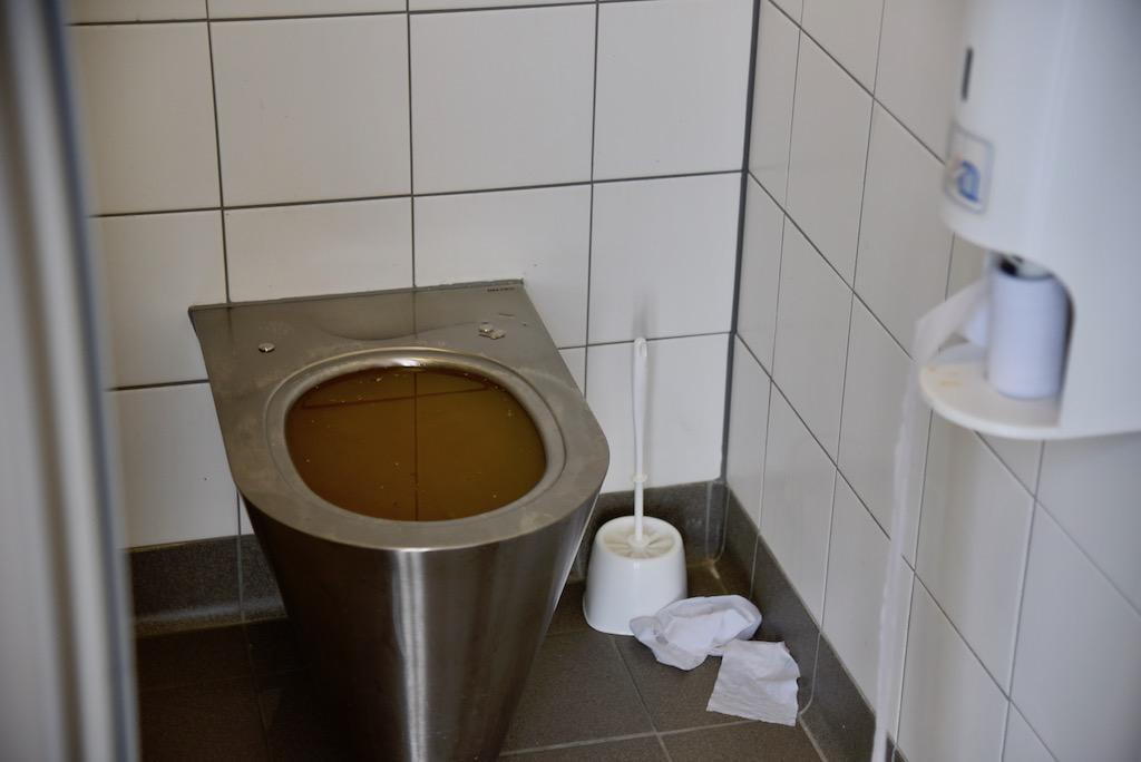 Überlaufendes WC Foto: LOKALBÜRO
