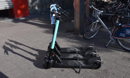 E-Scooter-Unfall in Derendorf