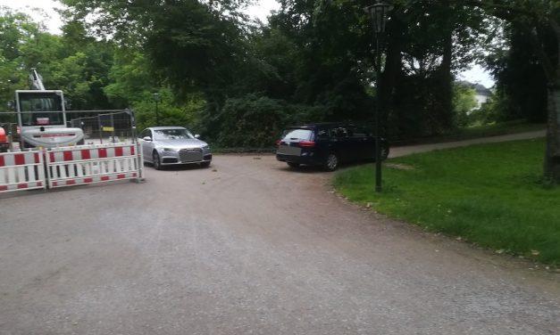 Sexualdelikt im Hofgarten – Polizei ermittelt wegen des Verdachts einer Vergewaltigung