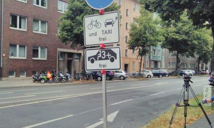 Umweltspuren für Fahrgemeinschaften frei