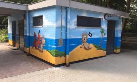 Toilettenanlage am Wasserspielplatz im Volksgarten komplett saniert