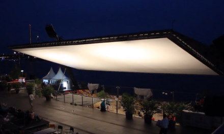 Open Air Kino am Rhein