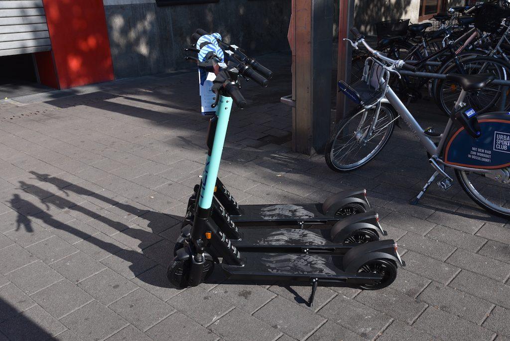E-Scooter in Düsseldorf Foto: LOKALBÜRO