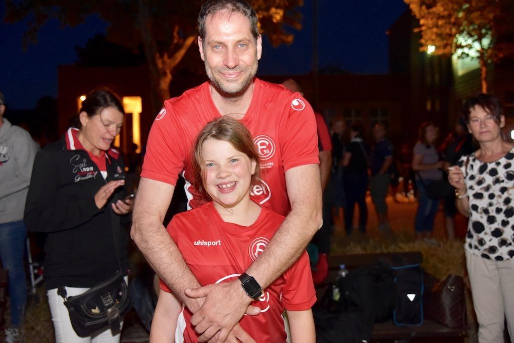 Karsten Knöpke und Tochter SVEA Foto: LOKALBÜRO