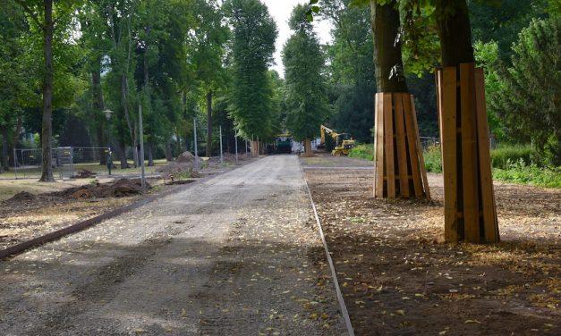 Wegesanierung im Hofgarten wird fortgesetzt