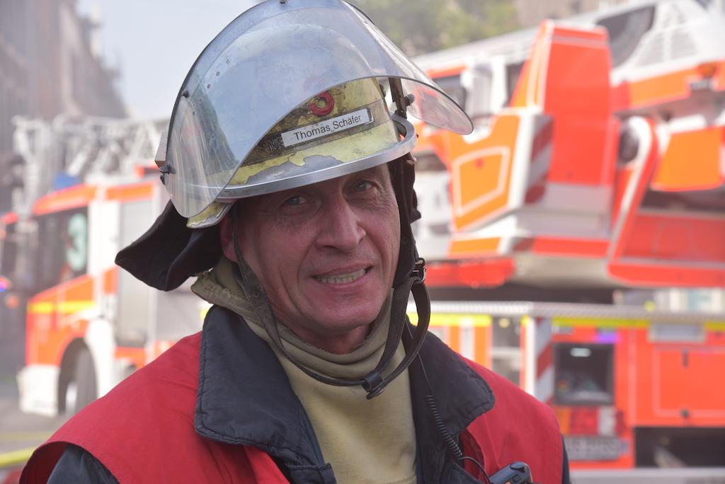 Einsatzleiter  Thomas Schäfer Foto: LOKALBÜRO