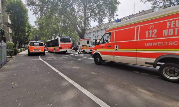 Zwei Verletzte durch Kohlenstoffmonoxid