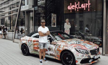 Der Künstler Dennis Klapschus verläßt Düsseldorf