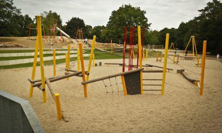 Abenteuerspiellandschaft in Heerdt eingeweiht