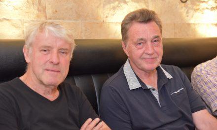 Fortuna Ex Trainer Tippenhauer bei den Fußball Legenden