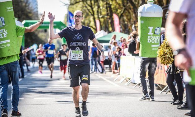 32. Stadtwerke Düsseldorf Halbmarathon auf der KÖ am 8. September 2019