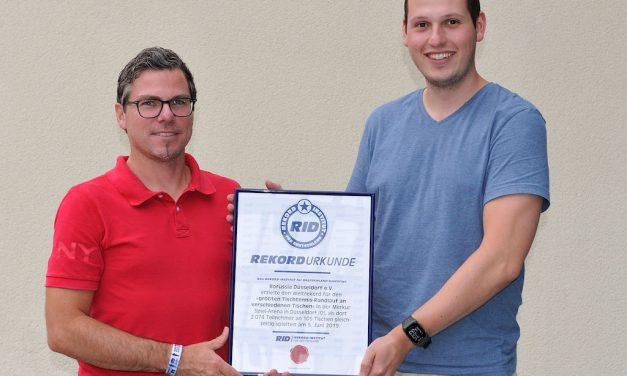 Neuer Tischtennis-Rundlauf Weltrekord offiziell anerkannt