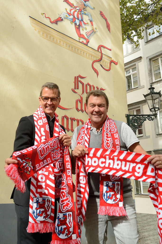 Josef Hinkel und Hans-Jürgen Tüllmann Foto: CC- Holger Stoldt