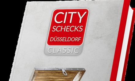 """""""City Scheck"""" Düsseldorf 2020 ab sofort erhältlich"""